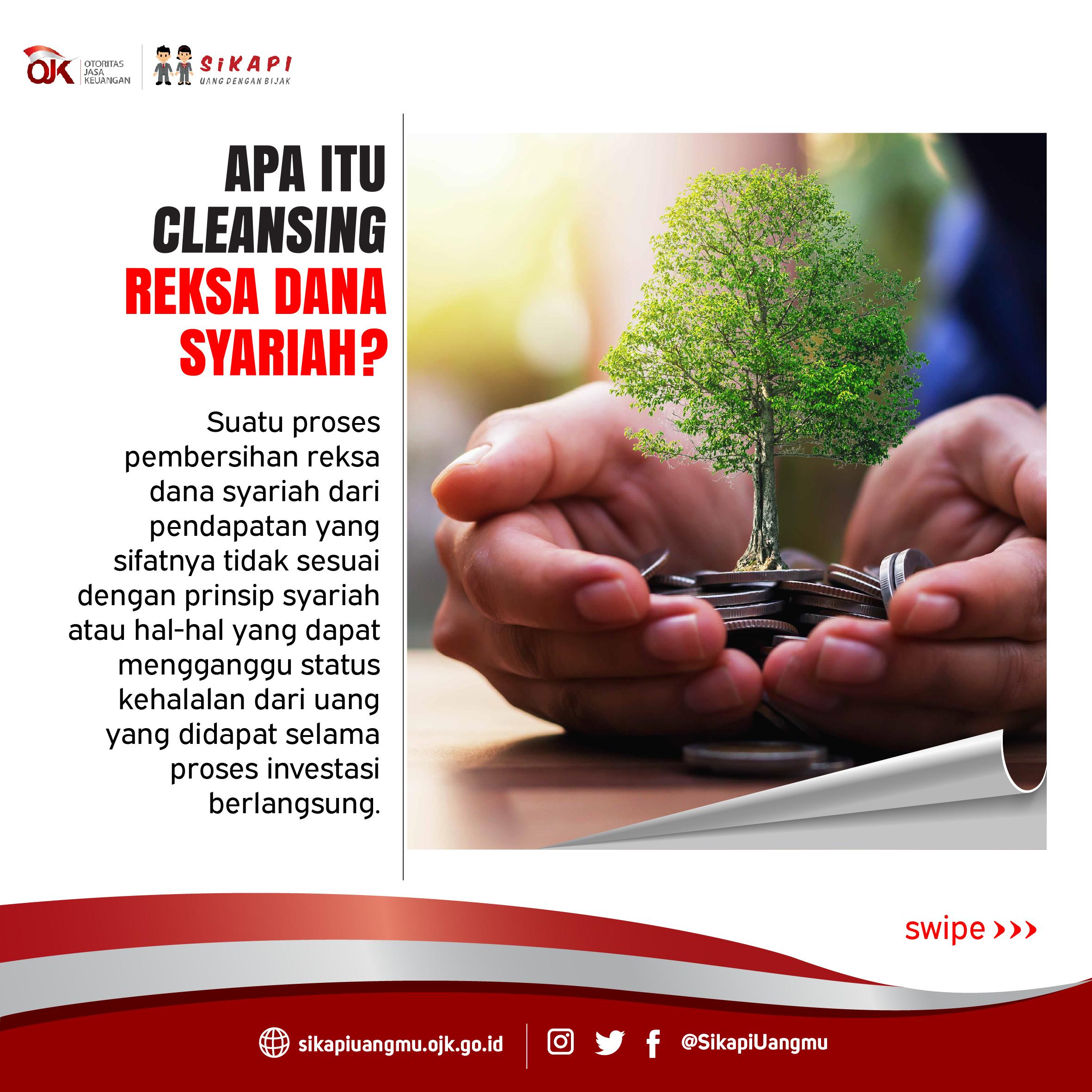 Proses Cleansing Reksa Dana Syariah Sikapi